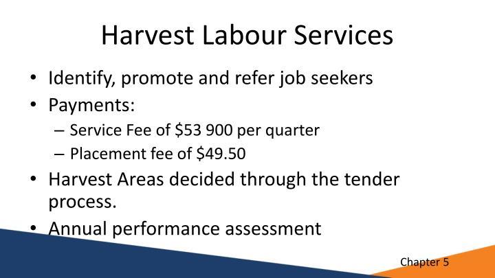 Harvest Labour Services