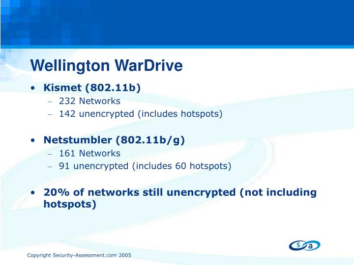 Wellington WarDrive