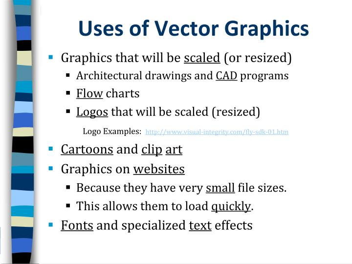 Uses of Vector Graphics