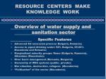 resource centers make knowledge work8