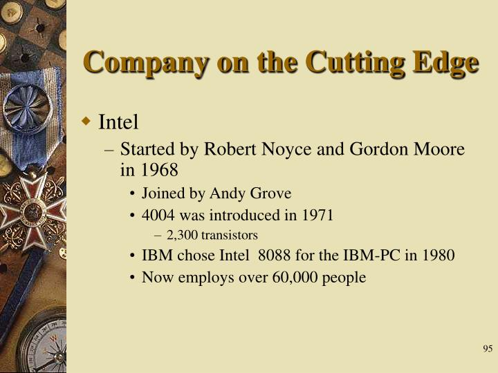 Company on the Cutting Edge