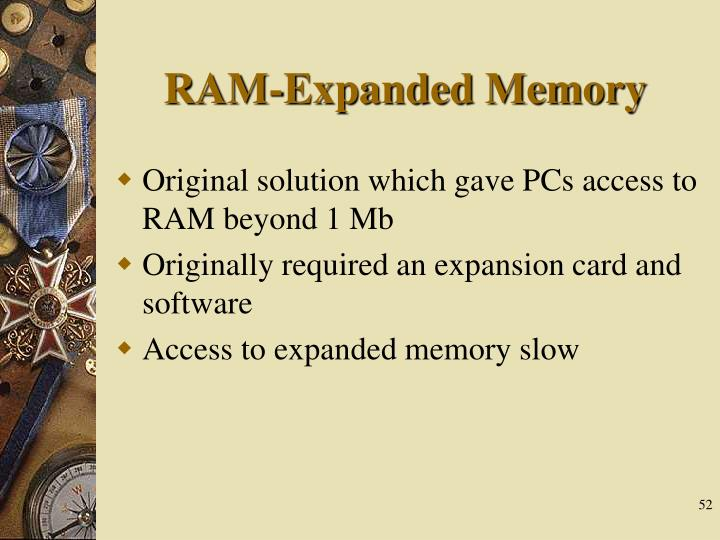 RAM-Expanded Memory