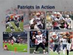 patriots in action