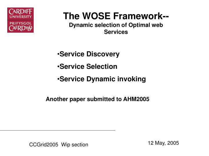 The WOSE Framework--