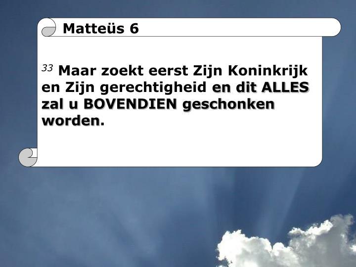 Matteüs 6