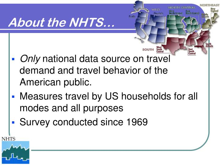 About the NHTS…