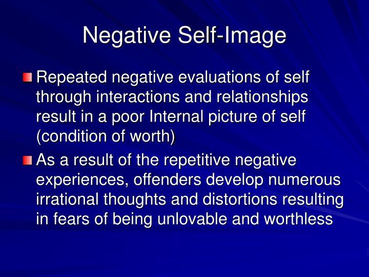 Negative Self-Image