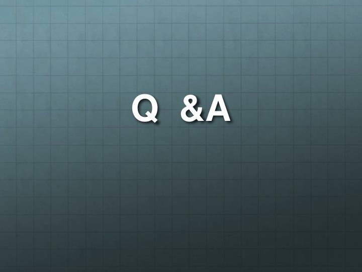 Q  &A