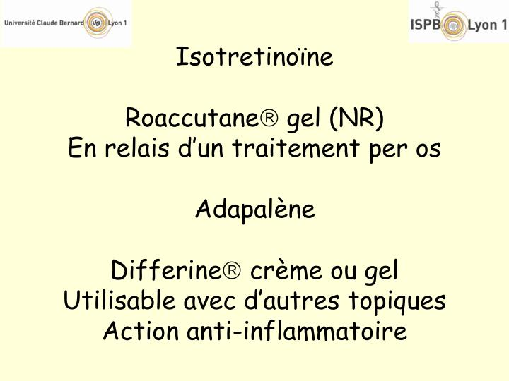 Isotretinoïne