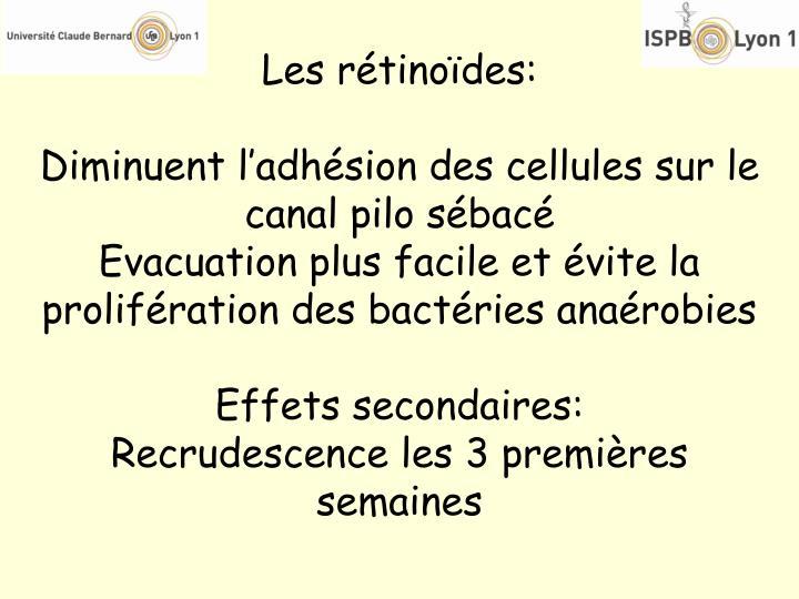 Les rétinoïdes: