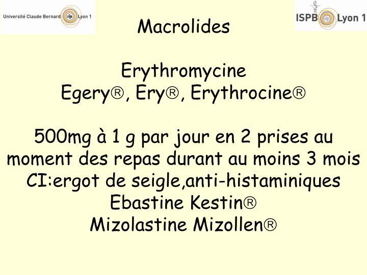 Macrolides