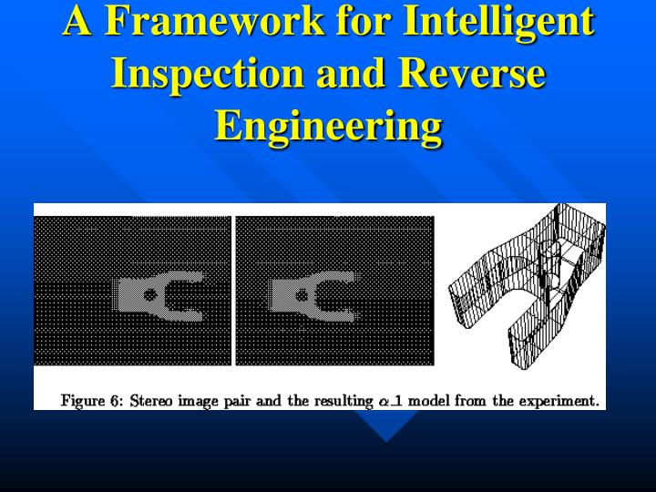 A Framework for Intelligent Inspection and Reverse Engineering