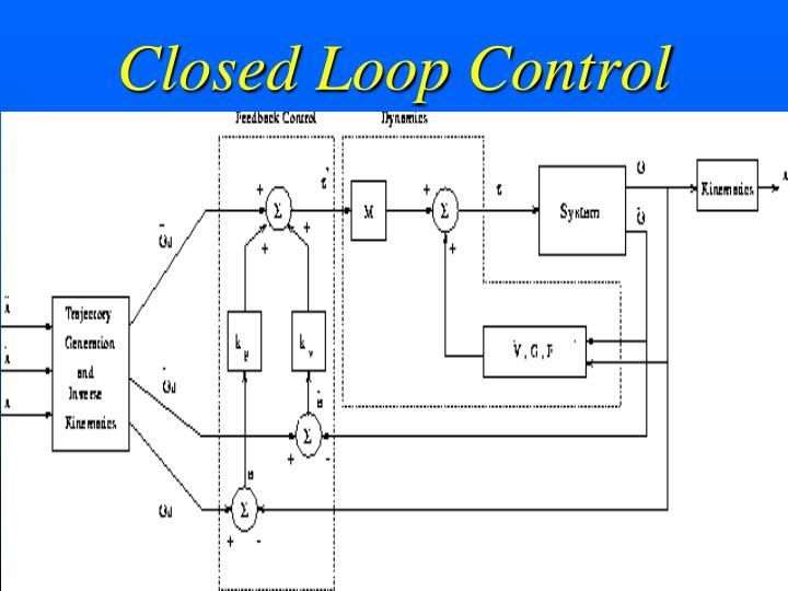 Closed Loop Control