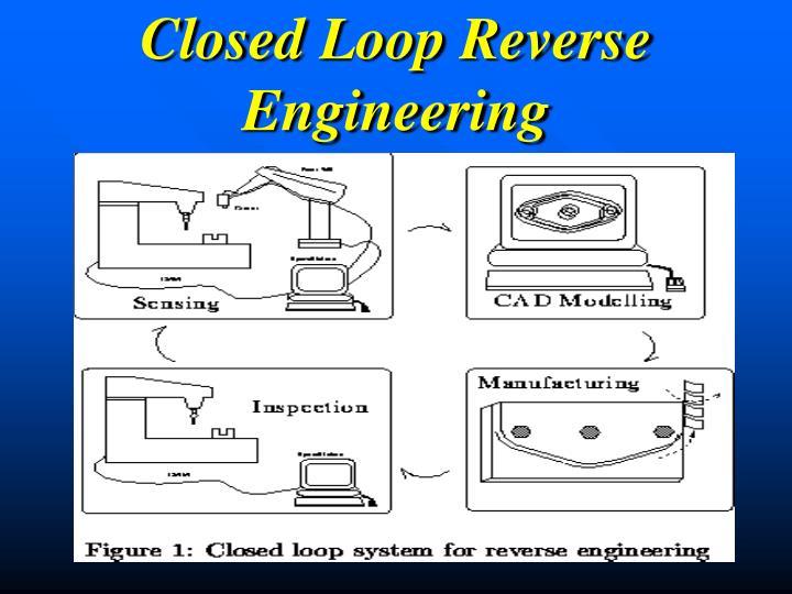 Closed Loop Reverse Engineering