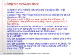 complete network data2