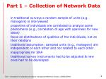 part 1 collection of network data