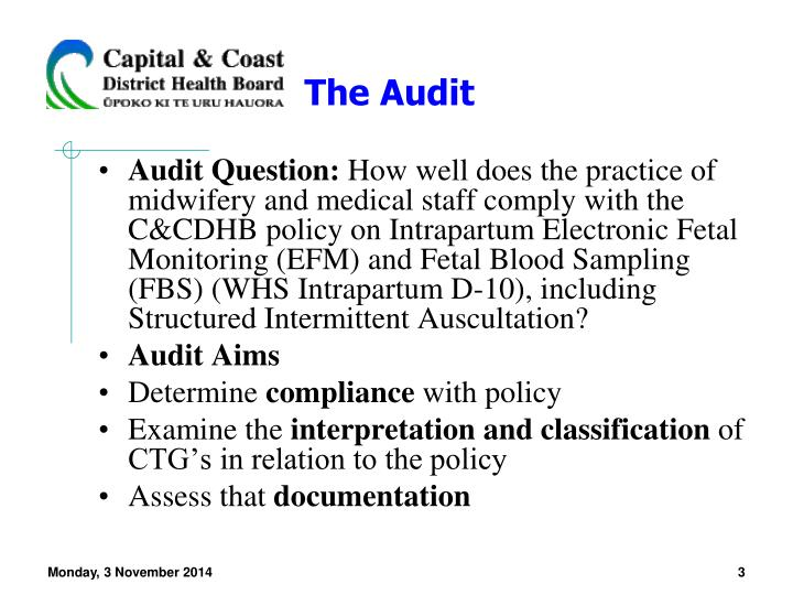 The audit