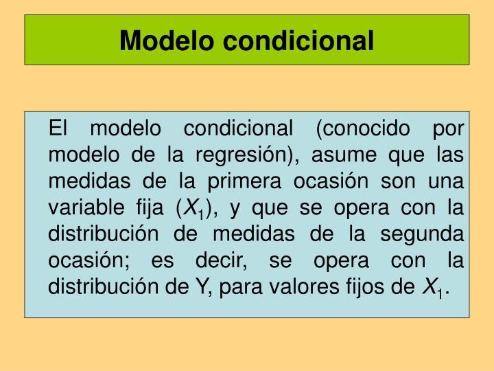 Modelo condicional