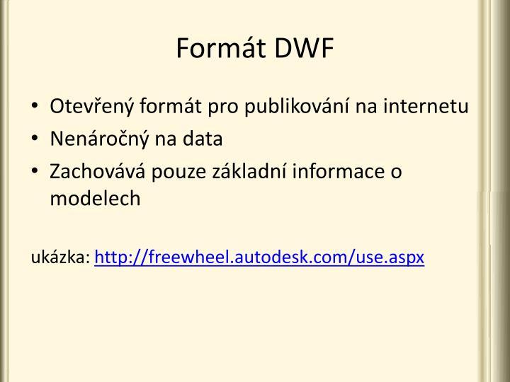 Formát DWF