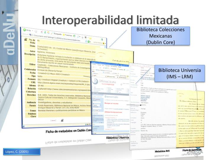 Interoperabilidad limitada