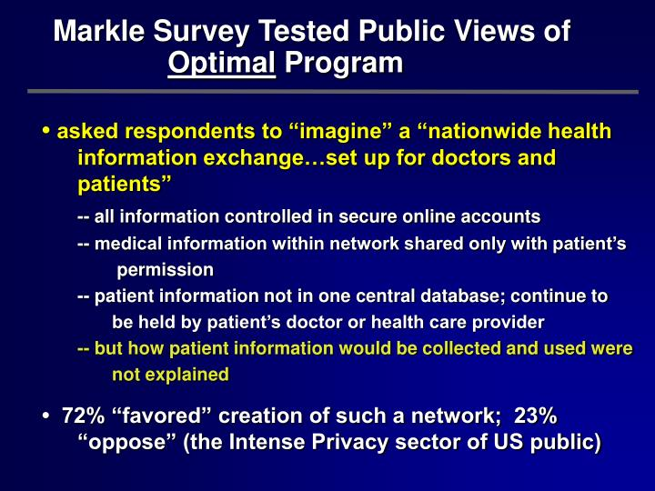 Markle Survey Tested Public Views of