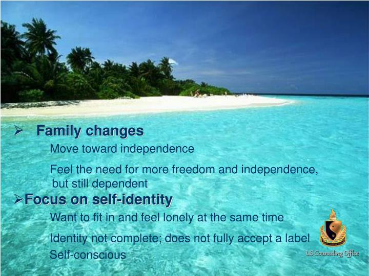 Family changes