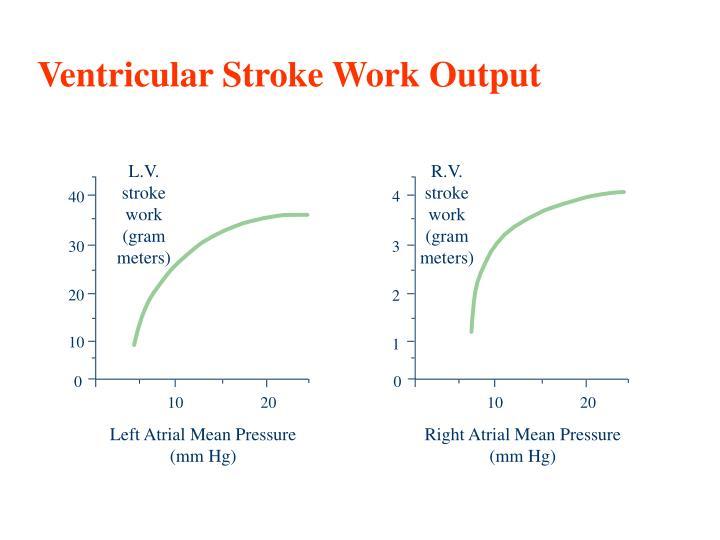 Ventricular Stroke Work Output