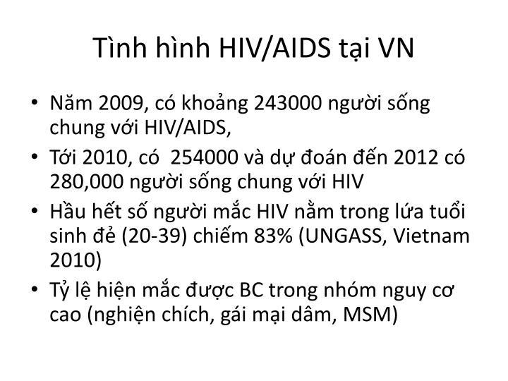 Tình hình HIV/AIDS tại VN