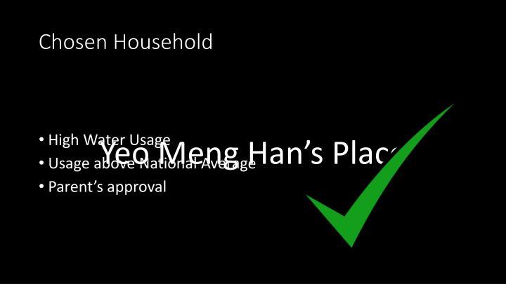 Chosen Household