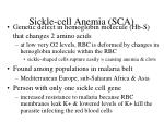 sickle cell anemia sca