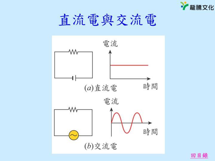 直流電與交流電