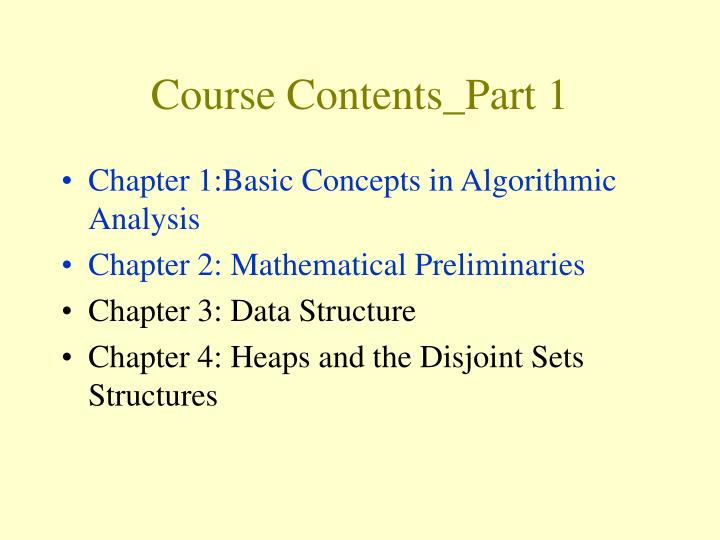 Course Contents_Part 1