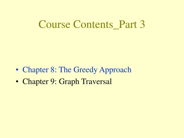 Course Contents_Part 3