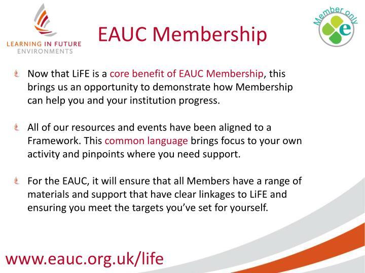 EAUC Membership