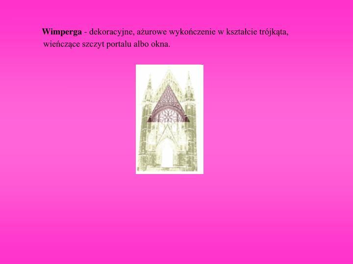 Wimperga