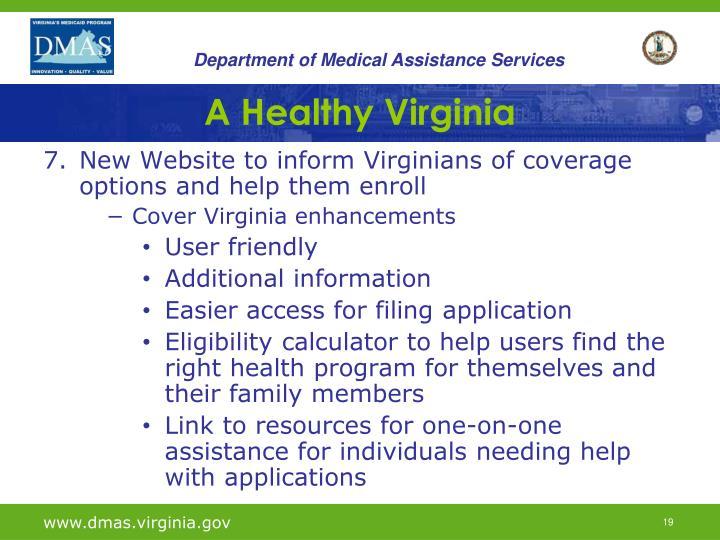 A Healthy Virginia