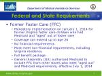 federal and state requirements3