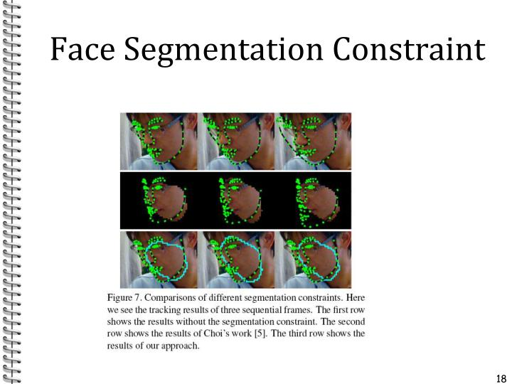 Face Segmentation Constraint