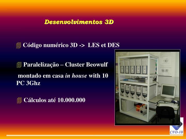 Desenvolvimentos 3D