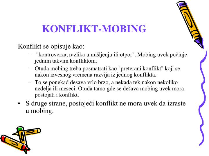 KONFLIKT-MOBING