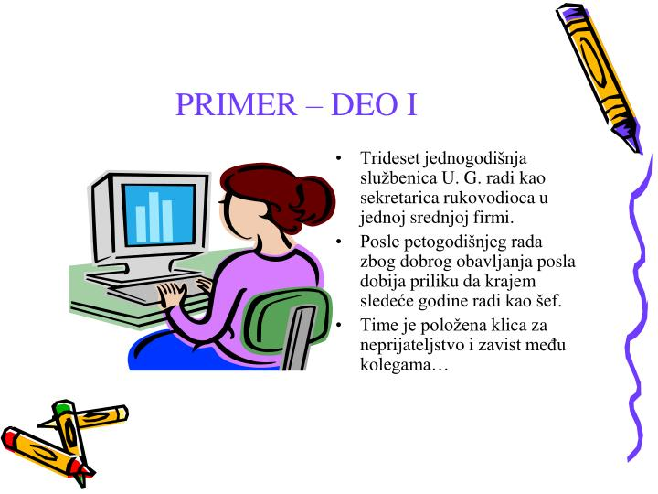 PRIMER – DEO I