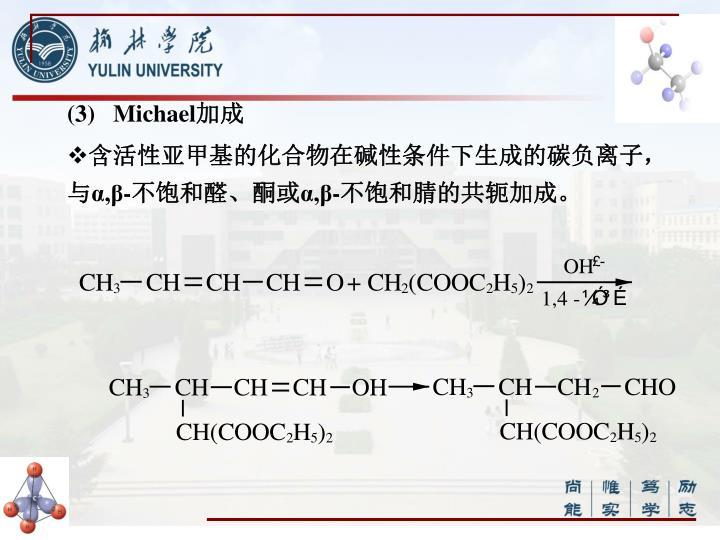 (3)   Michael