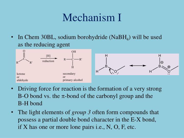 Mechanism I