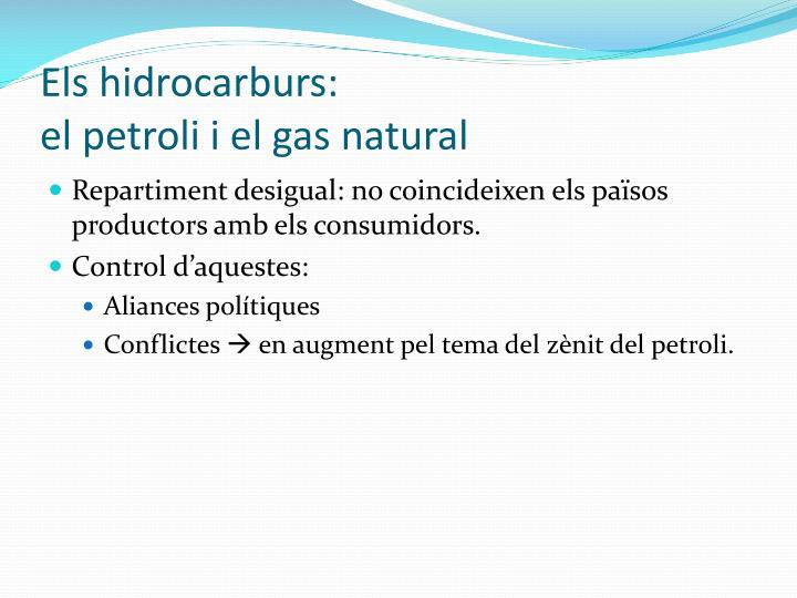 Els hidrocarburs:
