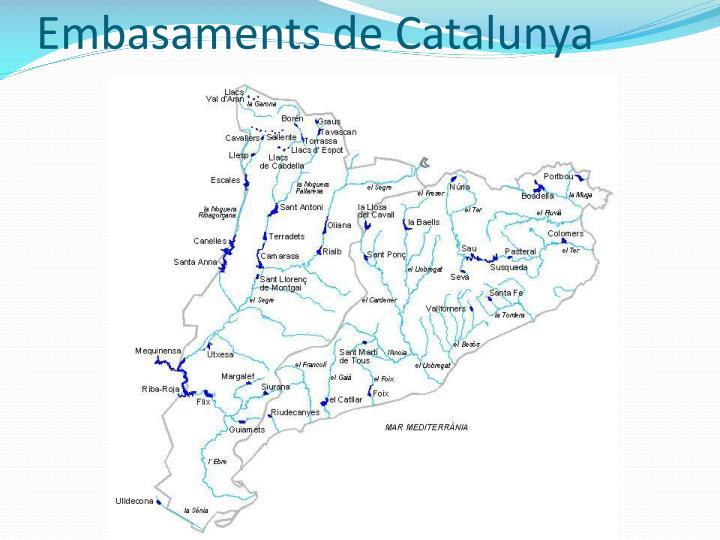 Embasaments de Catalunya