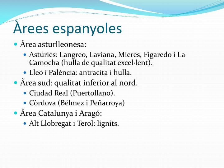 rees espanyoles