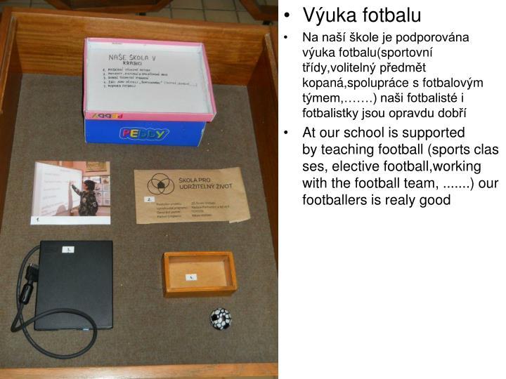 Výuka fotbalu