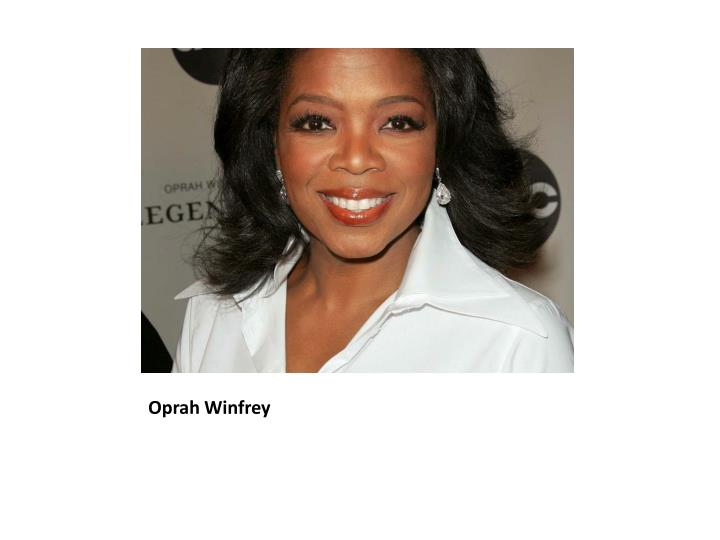 oprah biography essay The official biography about oprah winfrey includes an interactive timeline of oprah's life and career, her production company and philanthropic efforts.
