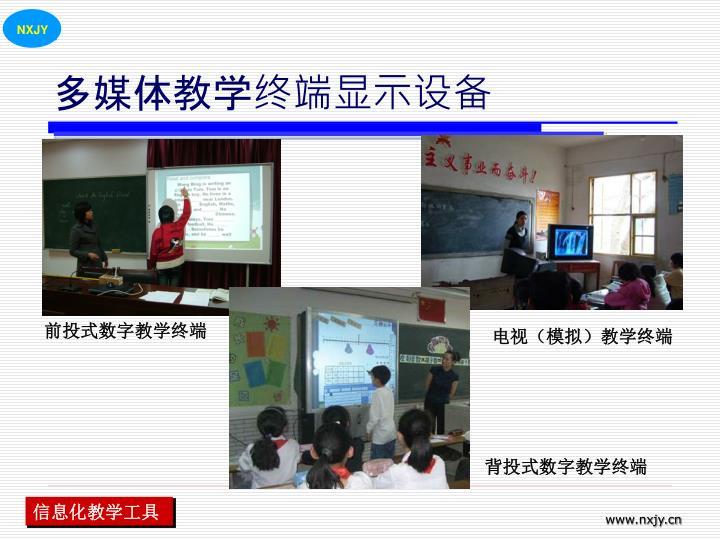 多媒体教学终端显示设备