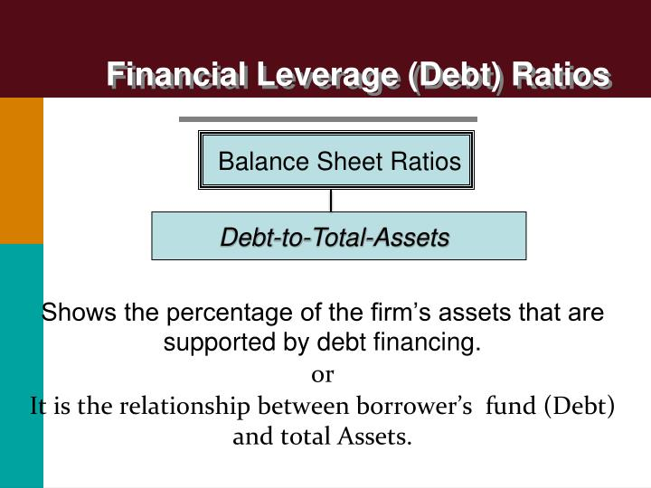 Financial Leverage (Debt) Ratios
